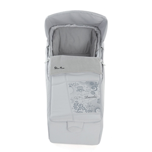 Picture of DAZZLE CARRYCOT SILVER