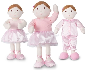 Picture of DARCEY BALLERINA RAG DOLL