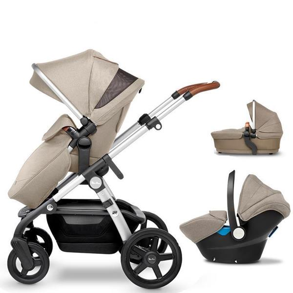 32d3f0c44 Prams | Buggies | Pushchairs | Stroller | Silvercross.ie. Wave Travel System  (Linen) - Free Simplicity Car Seat (worth €199) & ISOFIX base (worth €189)