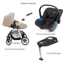 Picture of Horizon Go Bundle - Free Car Seat (worth €199) & ISOFIX base (worth €189)